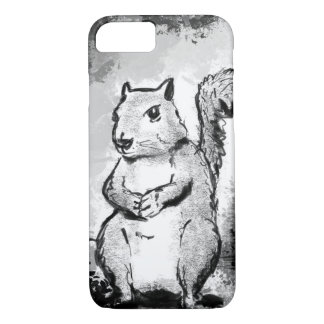 Inky Squirrel iPhone Case