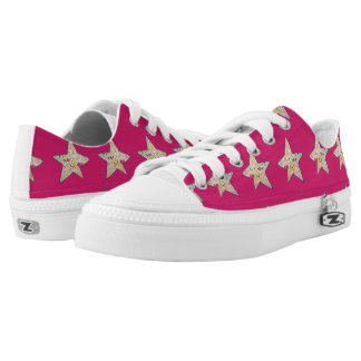 inky star low tops