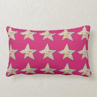 Inky star lumbar cushion