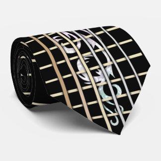 Inlaid Guitar Fretboard Tie