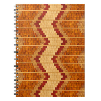 Inlaid Wood Reproduction notebook