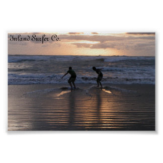 Inland Surfer Poster
