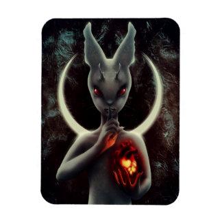 """INLÉ"" Black Rabbit Flexible Magnet"