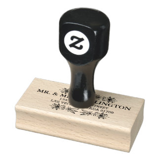inline rubber stamp