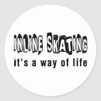 Inline Skating It s a way of life Stickers