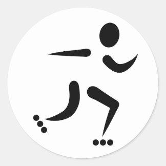 Inline Skating Sticker