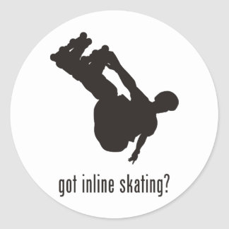 Inline Skating Stickers
