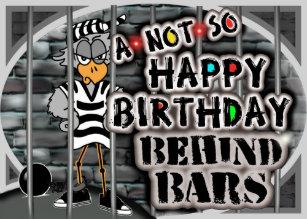 Prison Birthday Cards Zazzle Uk