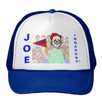 innarobe in a ballpark hats
