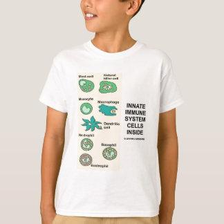 Innate Immune System Cells Inside T-Shirt