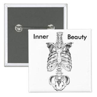 Inner Beauty 15 Cm Square Badge