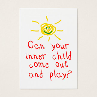 Inner Child Fun Card