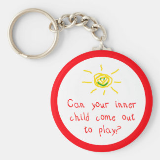 Inner Child Key Chain