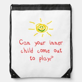 Inner Child Cinch Bag