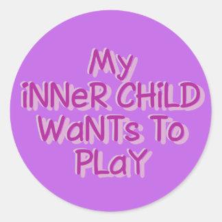 Inner Child stickers