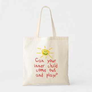 Inner Child Budget Tote Bag