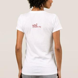 Inner City Girl Red, Grey & White T Shirts