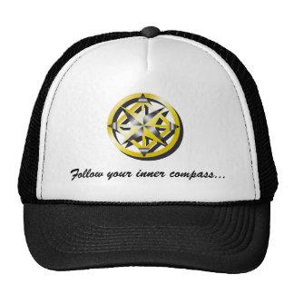 Inner Compass Baseball Cap Mesh Hat
