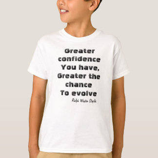 Inner confidence t-shirts