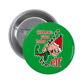 Inner Elf 6 Cm Round Badge