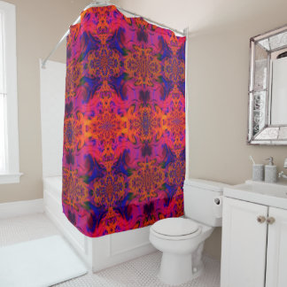 Inner Fire Shower Curtain