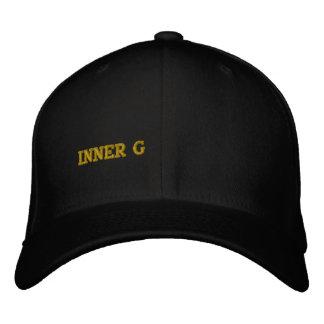 INNER G EMBROIDERED BASEBALL CAP