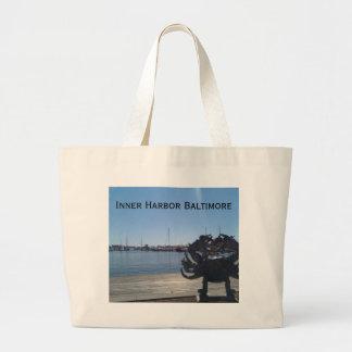 Inner Harbor Jumbo Tote Bag