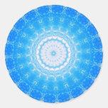 Inner Light  Mandela Round Sticker