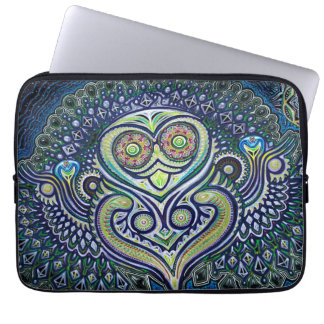'Inner Light' (Psychedelic Owl) Laptop Sleeve
