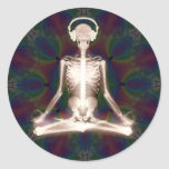 Inner Peace Classic Round Sticker