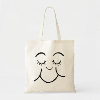 Inner peace face  bag