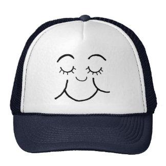Inner peace face hat