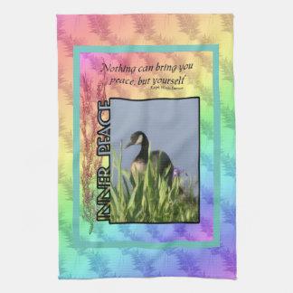 Inner Peace Inspirational American MoJo Towel