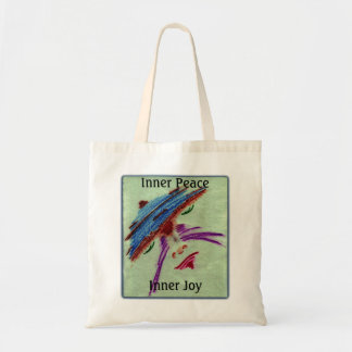 Inner Peace & Joy Tranquility Budget Tote Bag