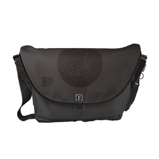 Inner Peace Out Messenger Bags