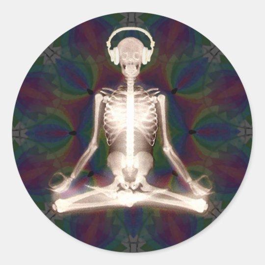 Inner Peace Round Sticker