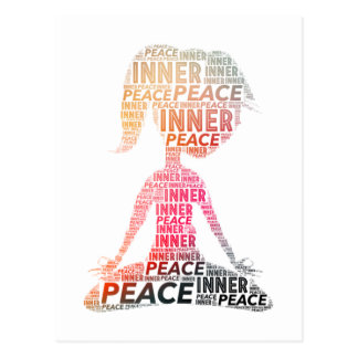 Inner Peace-stay positive Postcard