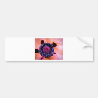 Inner Poppy Bumper Sticker