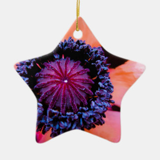 Inner Poppy Christmas Ornament