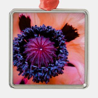 Inner Poppy Christmas Ornament