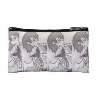 Inner Rockstar Angel Small Cosmetic  Bag Cosmetics Bags