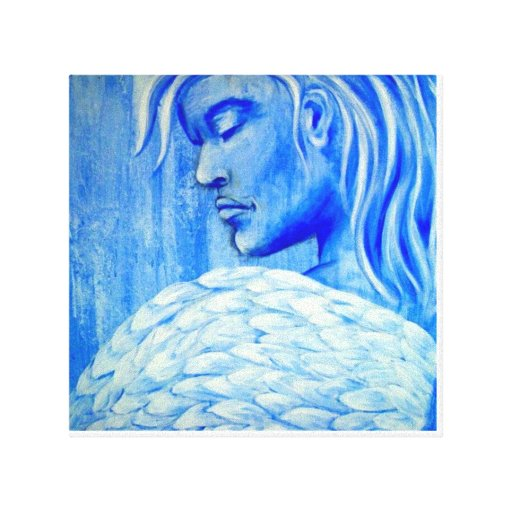 Inner Truth Design  Guardian Angel Stretched Canvas Prints