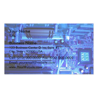 Inner view of CPU Business Cards