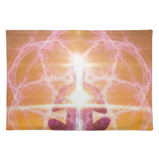 Inner Worlds Outer Worlds - Kundalini and Chakras Placemat
