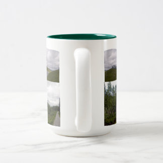 Innerdalen, Norway Two-Tone Coffee Mug