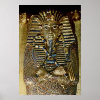 Innermost coffin of Tutankhamun Poster