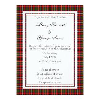 Innes Scottish Wedding Invitation