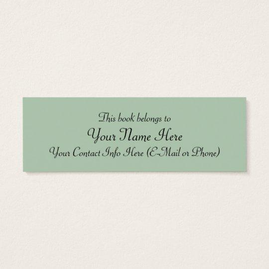 Innocence Bookmark by William Bouguereau Mini Business Card