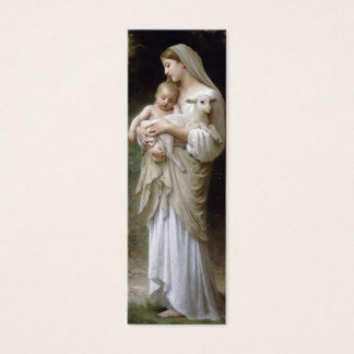 Innocence Bookmark by William Bouguereau Mini Business Card