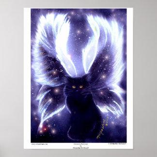 Innocence Fairy Cat Poster